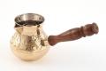 Турка латунь  330 мл (золото/серебро)