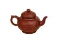 """Глиняный чайник """"Любовь"""" с з/к 600 мл."""
